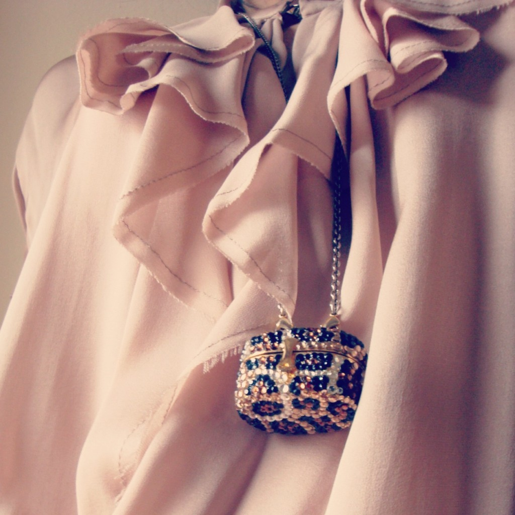 Fascinate old rose dress