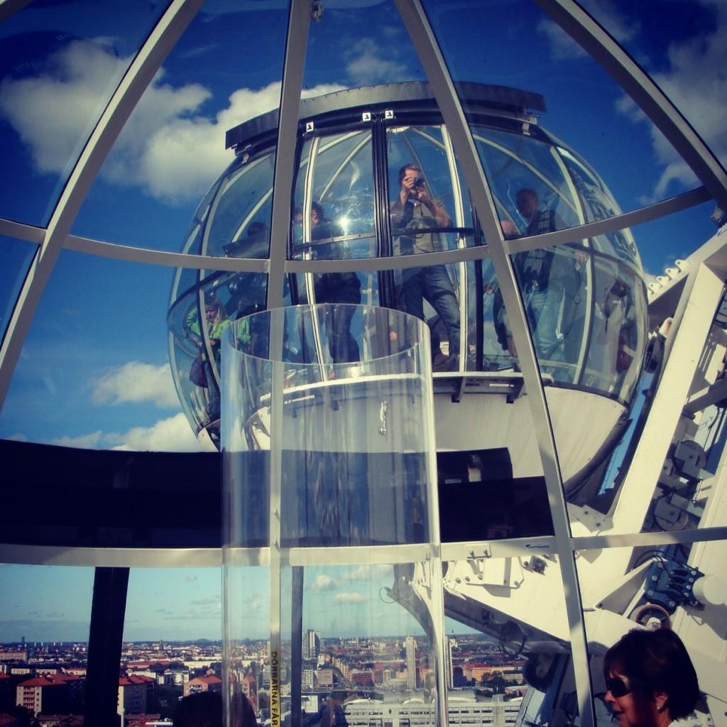 Spectacular Ericsson Globe Stockholm