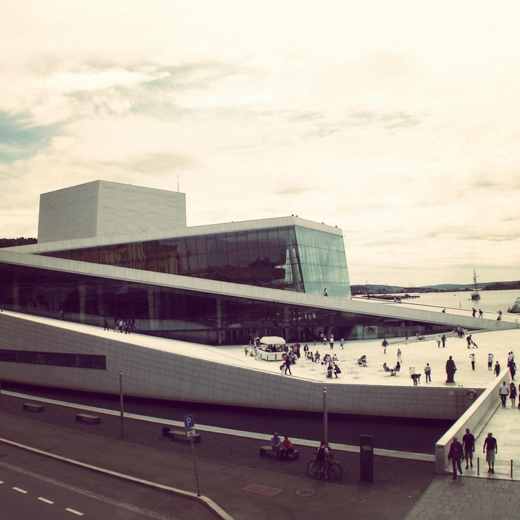 Oslo…brush stroke