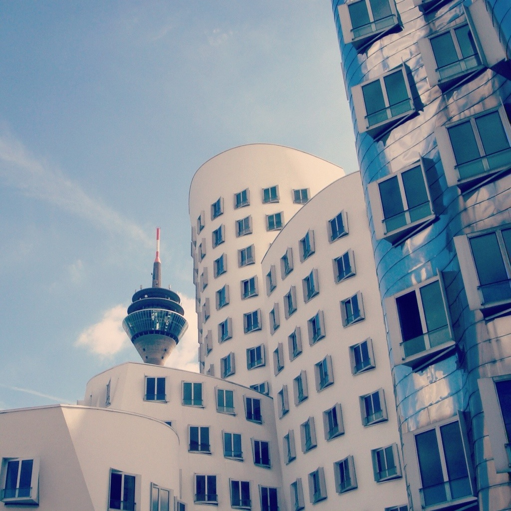 The modern Dusseldorf, must see