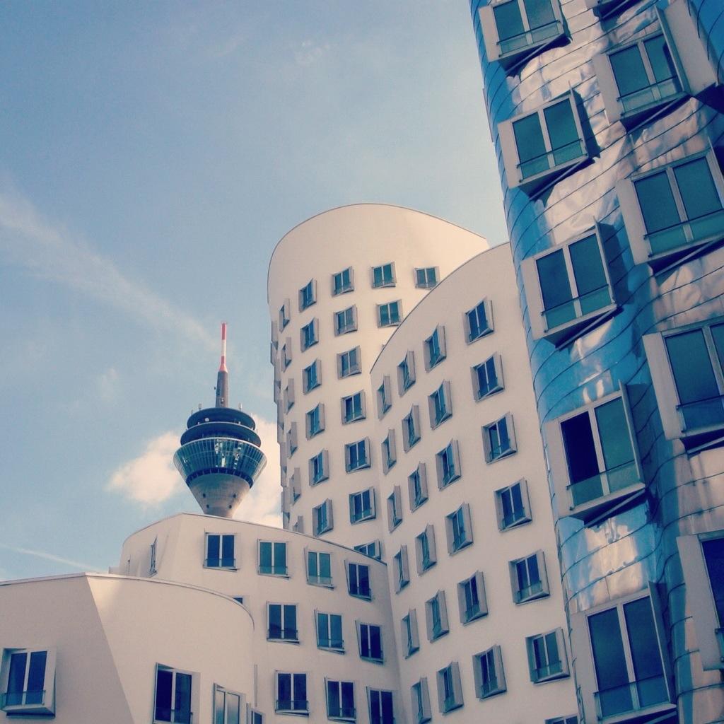The modern Dusseldorf, must see