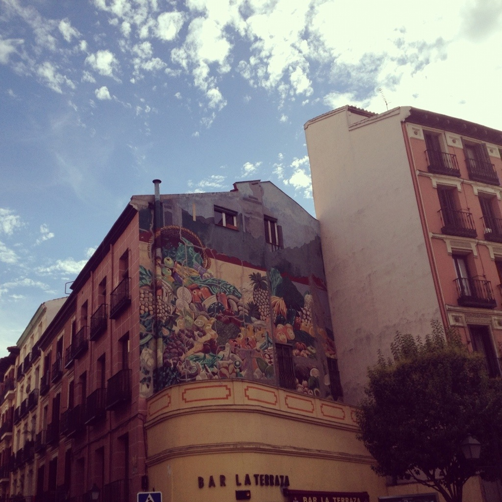 Madrid, mixture of colors and styles