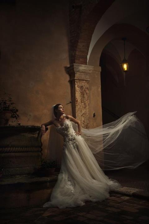 Simply Fabulous in white wedding dress