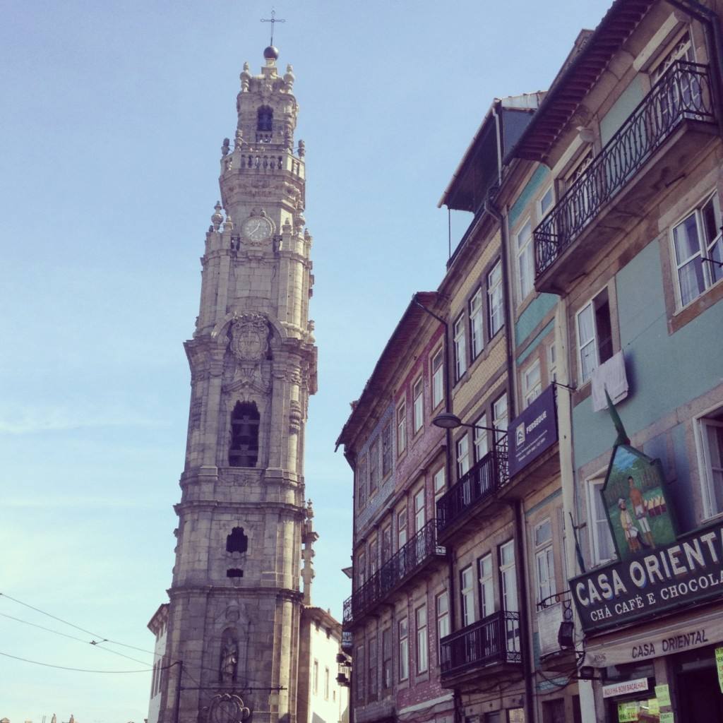 Wandering the streets of Oporto