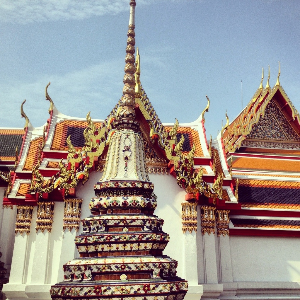 Bangkok's temple