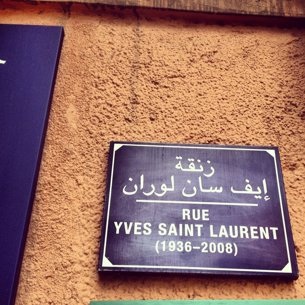 YSL and Marrakech