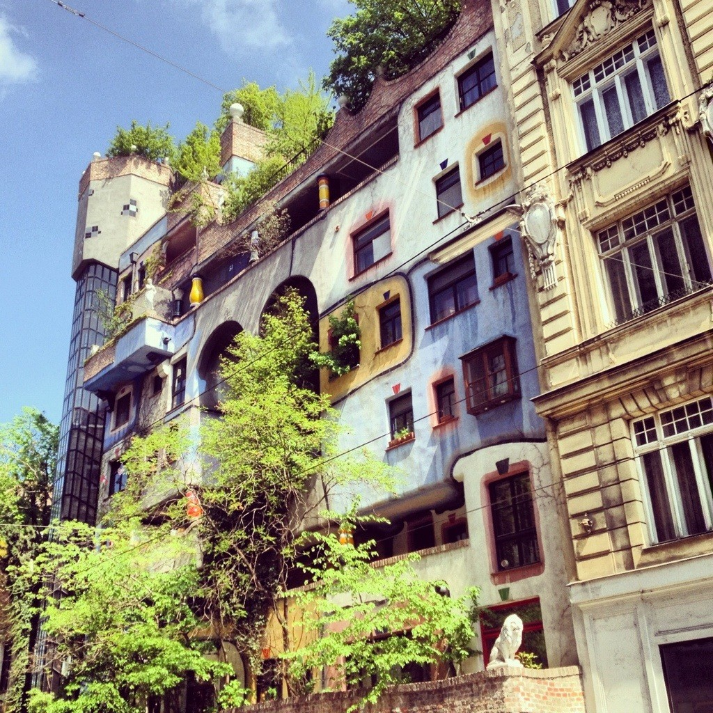 Vienna in the footsteps of Hundertwasser