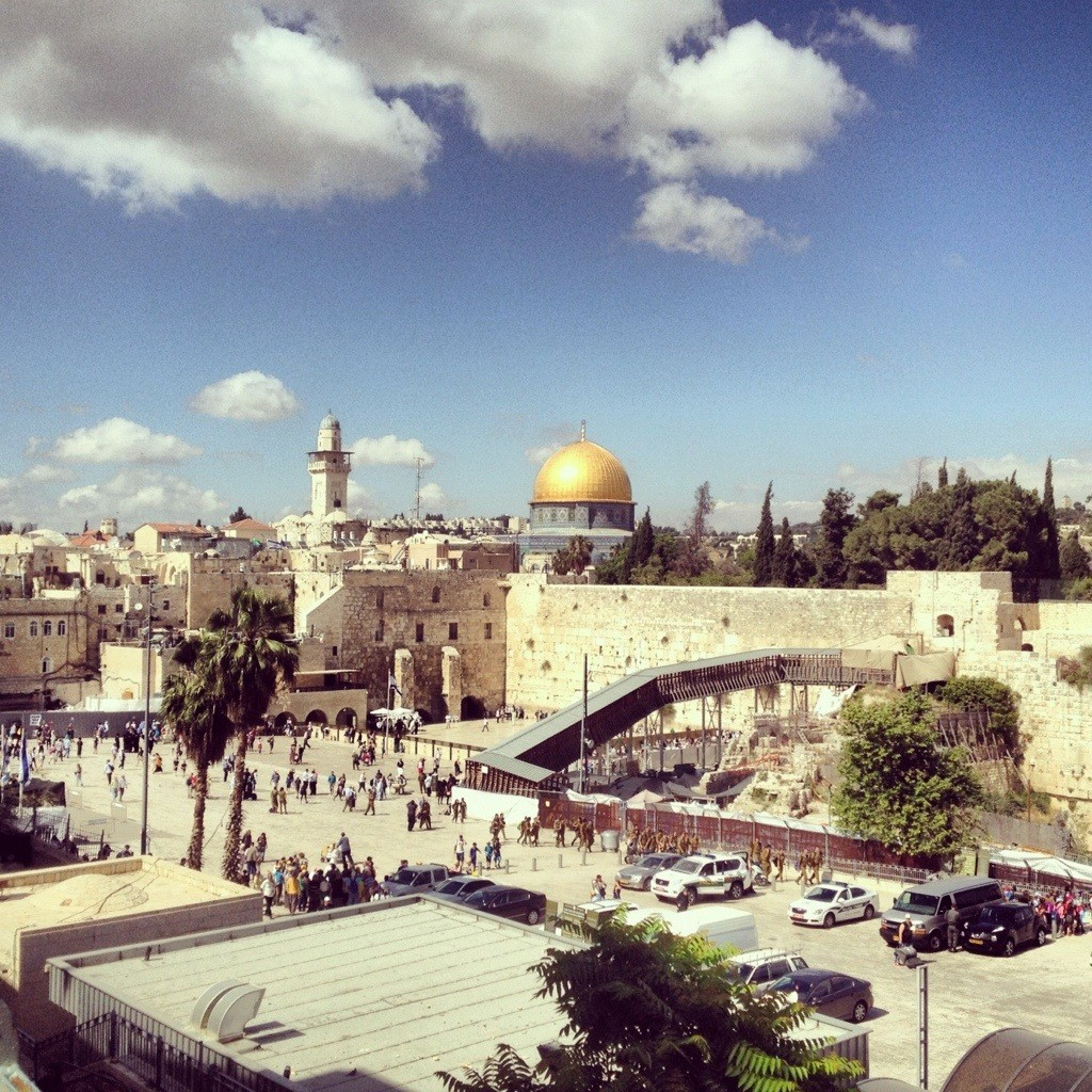 Jerusalem, sacred city