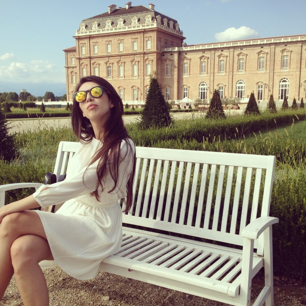 Royal white in the palace of Venaria