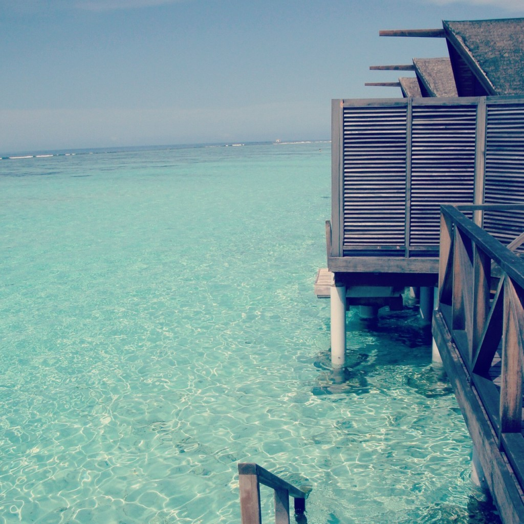 Maldives over the infinite, timeless, enchanting world of feelings
