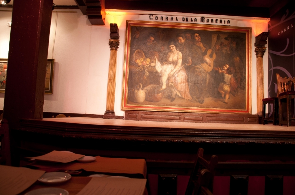 Corral de la Moreira, the famous tablao flamenco of the world