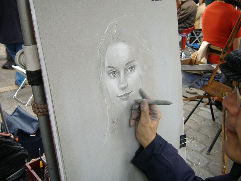 portrait montmatre
