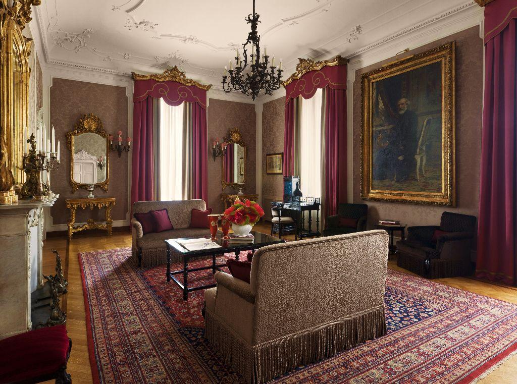 Verdi Rooms at the Grand Hotel et De Milan