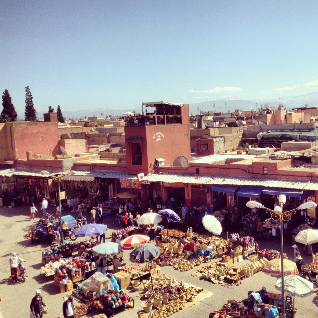 Marrakech between spices and colors...