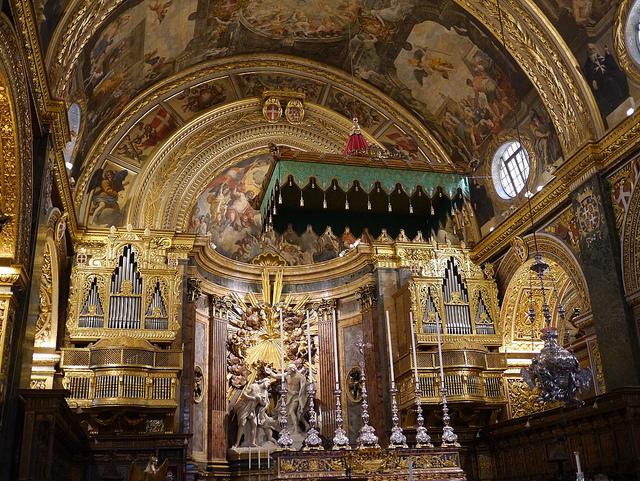 The traces of Caravaggio, Malta