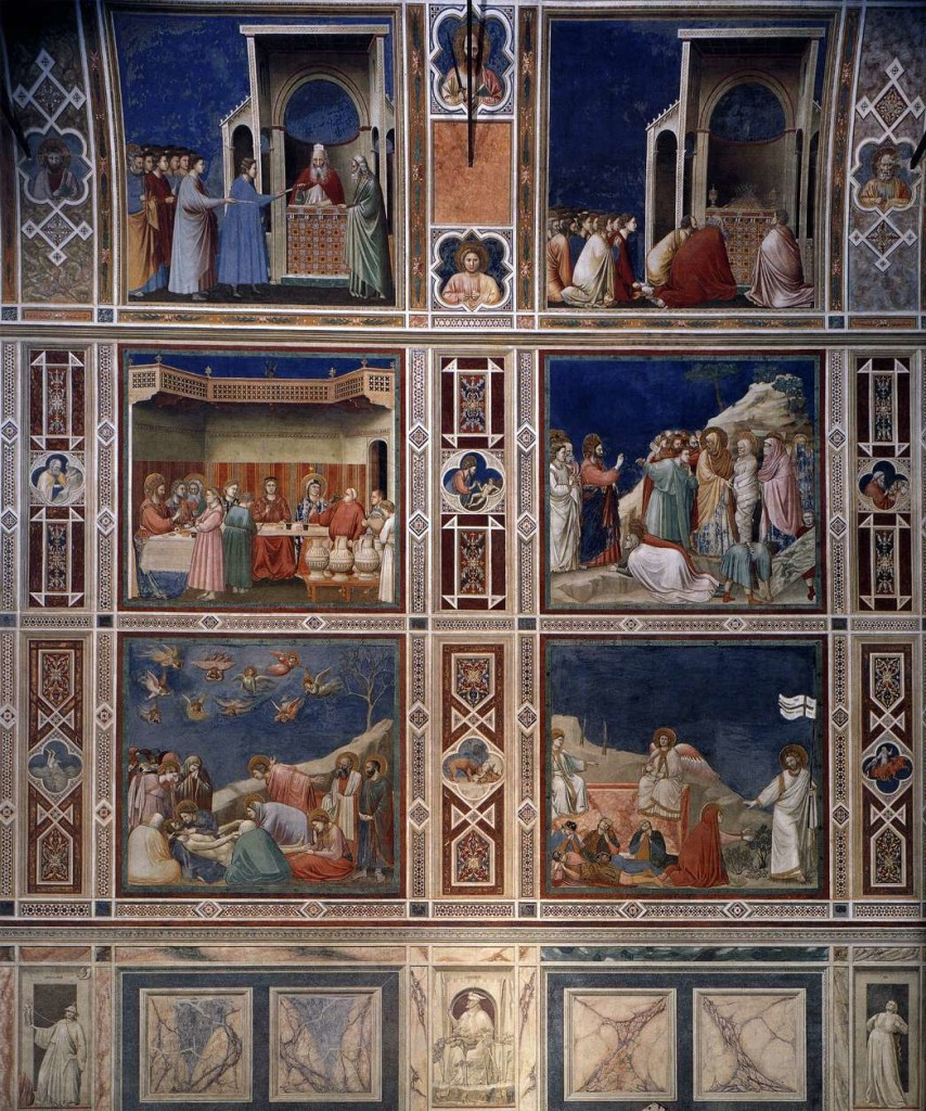 The fingerprints of Giotto in Padua