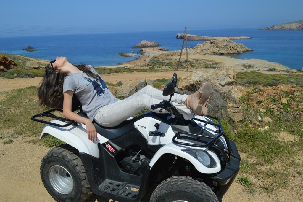 2Exploring Mykonos by quad