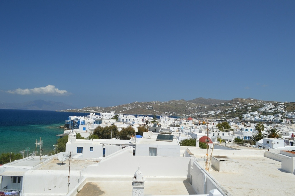 Mykonos Old Town and Traditional Windmills
