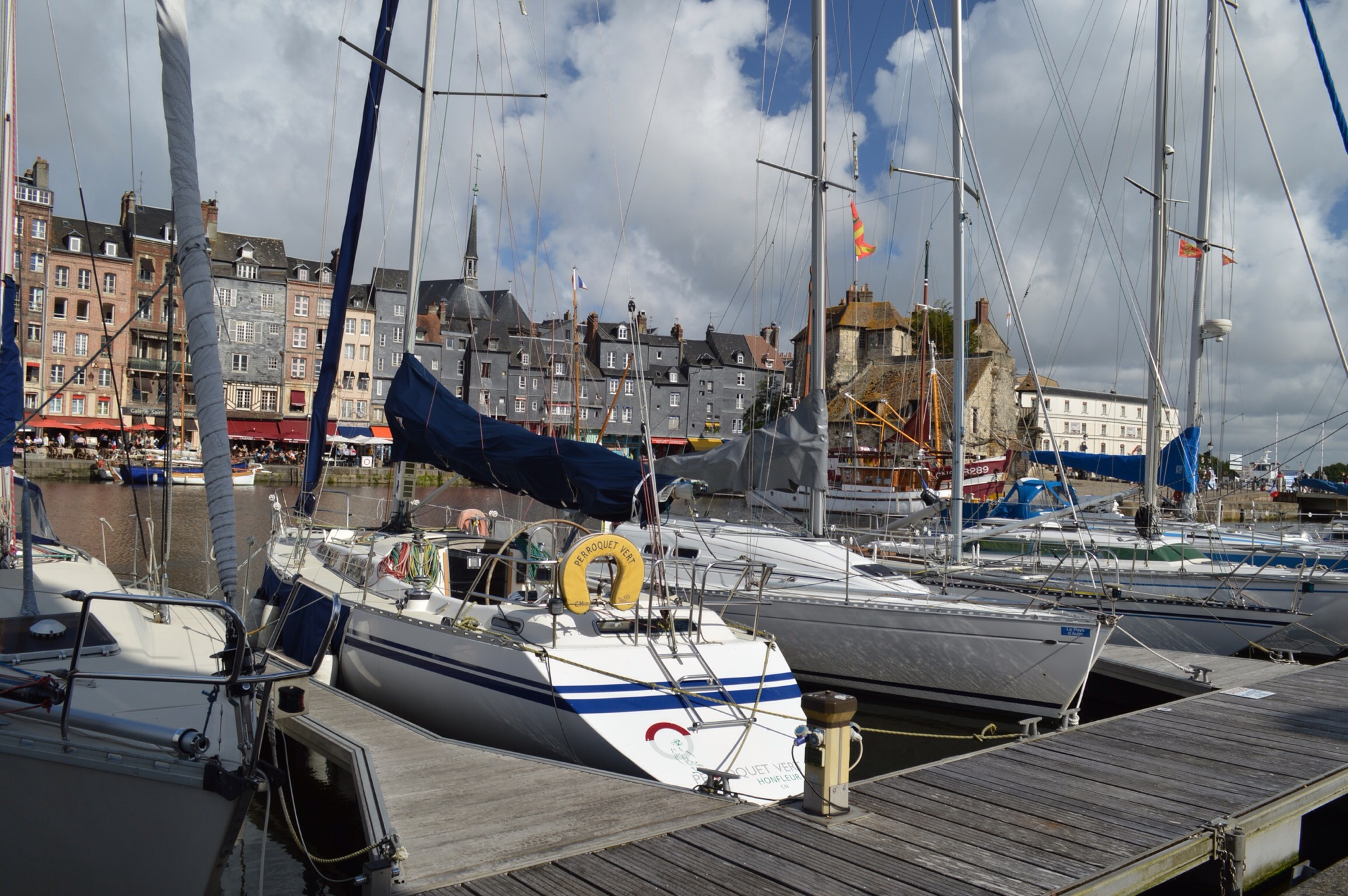 Honfleur, the mouth of the Seine