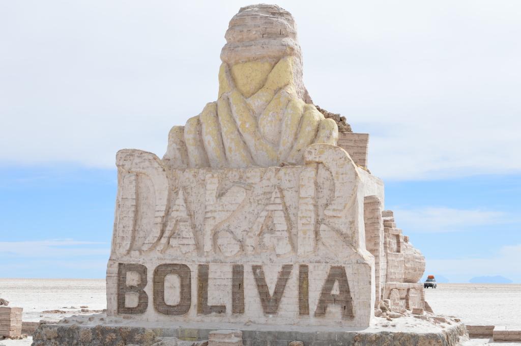 Dakar Bolivia, Salar de Uyuni
