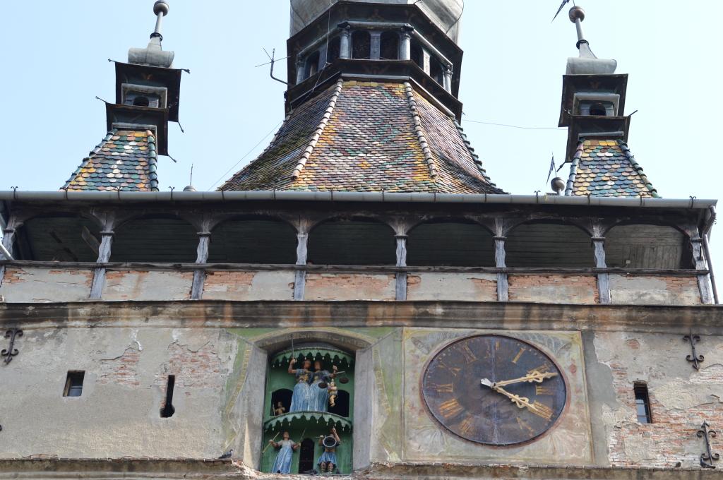 Sighisoara Transylvania, the birthplace of Vlad Dracula