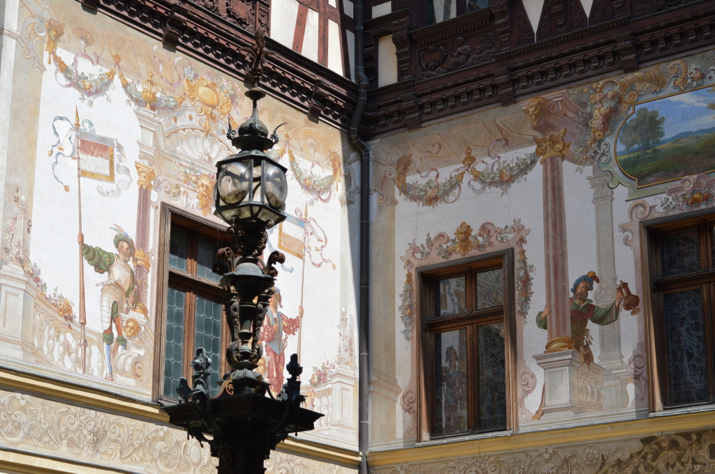 Peles Castle, the residence of first Romanian king