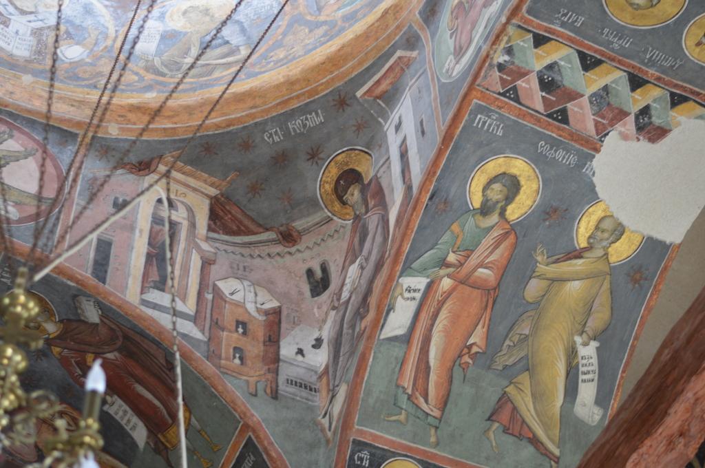 Monastery of Vlad Tepes in Snagov