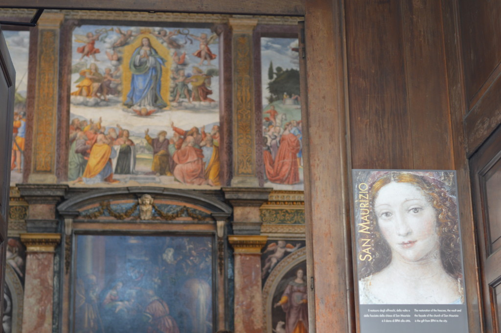 Monastery of San Maurizio, 'Cappella Sistina' Milano