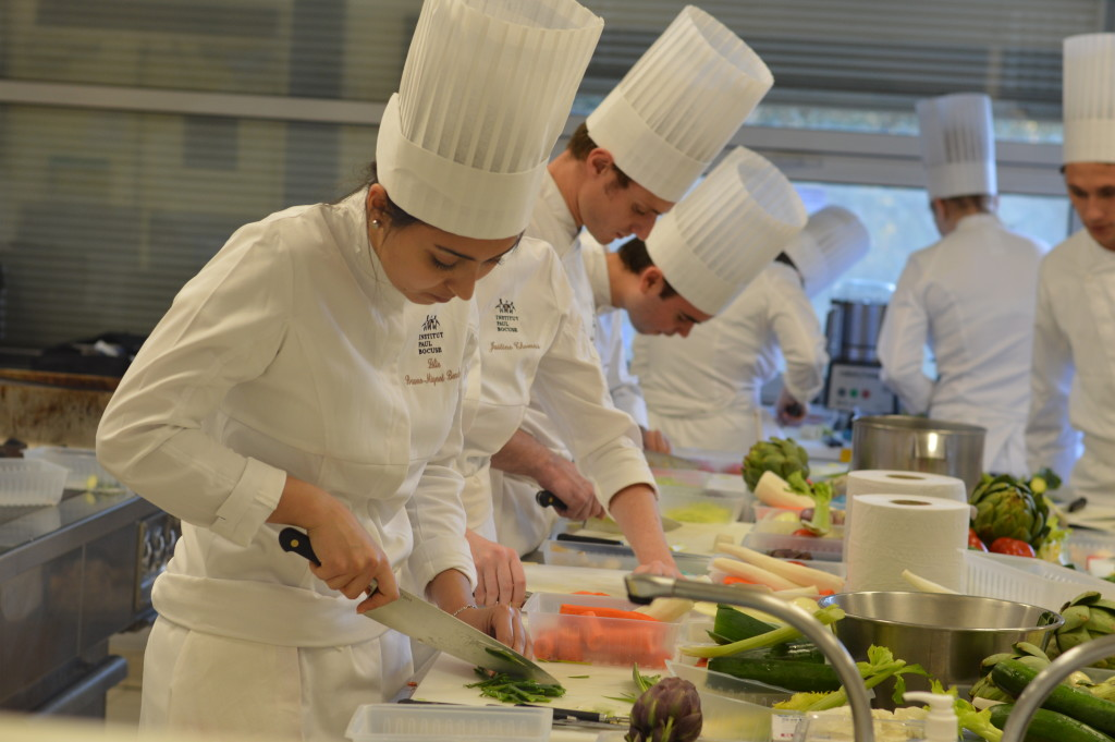 Paul Bocuse Institute, taste laboratory