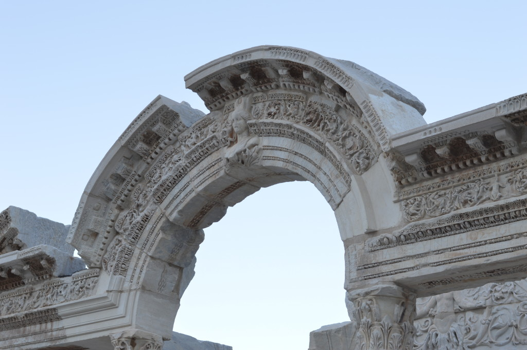 The house of Virgin Mary and Ephesus