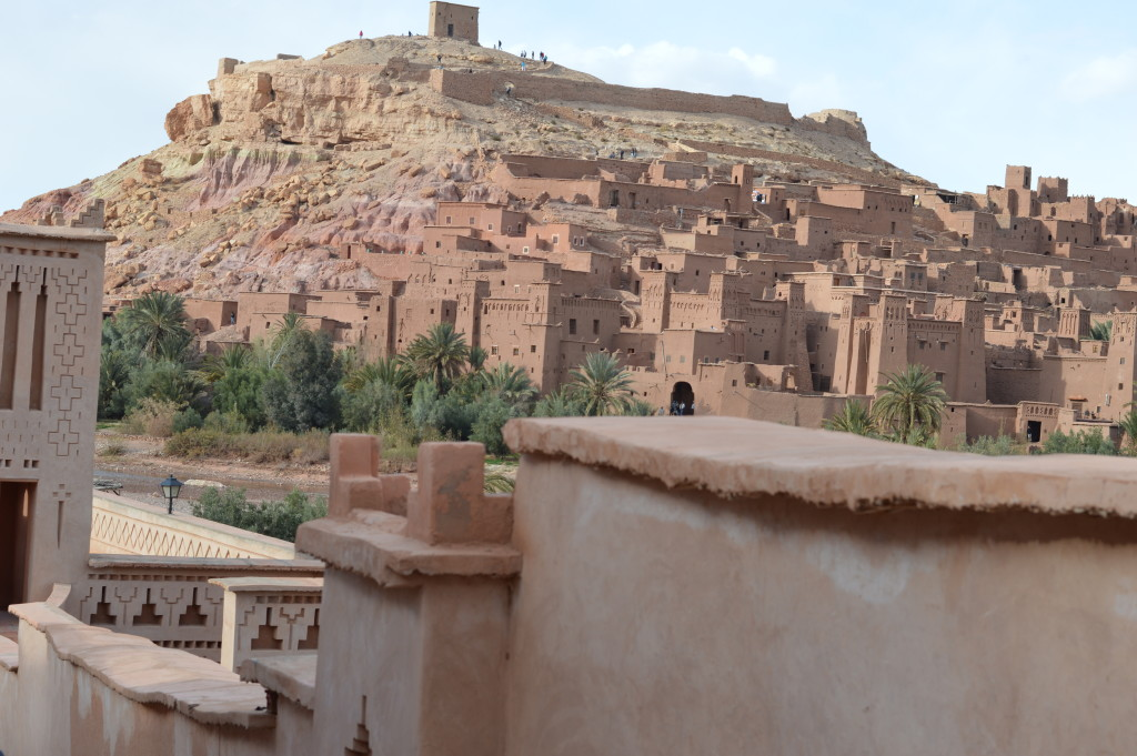 Kasbah Ait Ben Haddou, a movie set