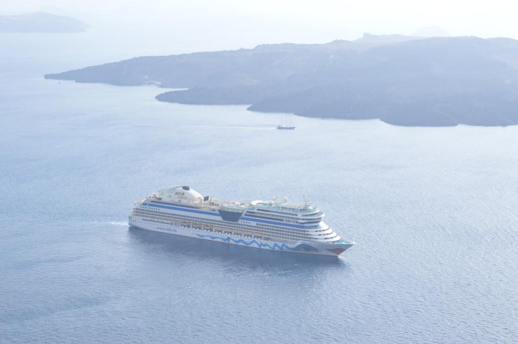 Santorini, the volcanic island