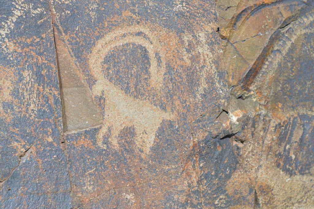 Petroglyphs of Tamgaly, Kazakhstan