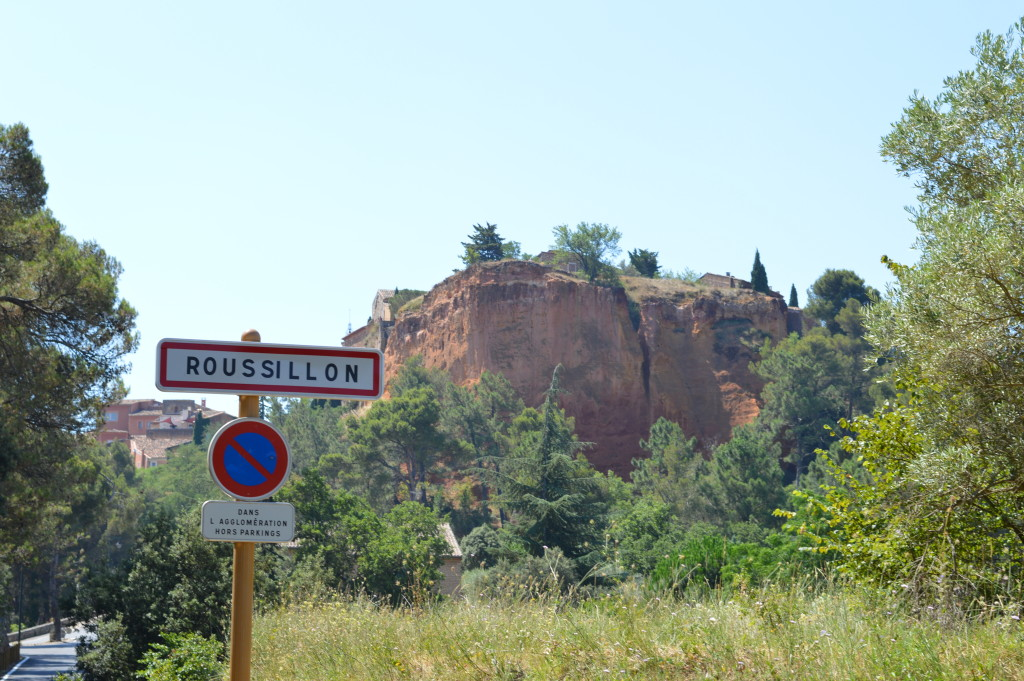 The ochre trail, Roussillon