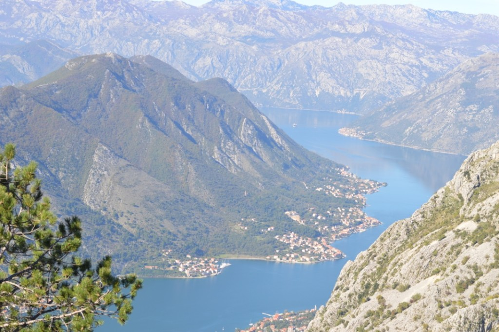 Montenegro and the southernmost fjord